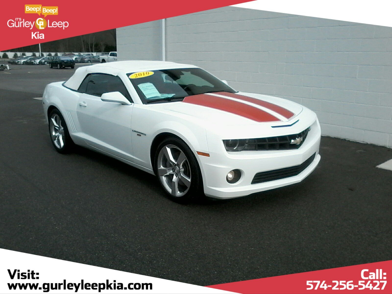 Pre-Owned 2010 Chevrolet Camaro 2SS